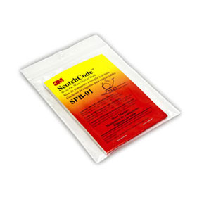 ScotchCode Pre-Printed Wire Marker Book 0-9