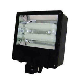 120W 5000K Induction Shoe Box Light Fixture 110-277V