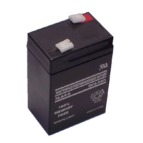 6V 4.50A/Hour Sealed Lead Acid Rechargeable Battery