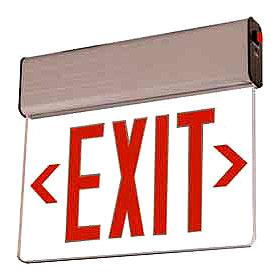 Rival REUS Surface Edgelit Double Face LED Exit Sign
