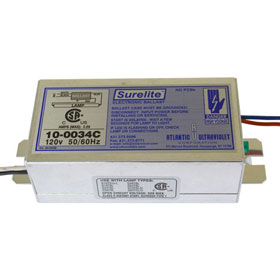 Surelite 10-0034C 120V Electronic Germicidal Fluorescent Ballast