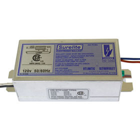 Surelite 10-0137 120V Electronic Germicidal Fluorescent Ballast