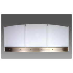 Exterior Acrylic Panels for the Custom Arc Wall Sconce