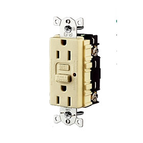 GFRST20W White 20A Commercial GFCI Receptacle