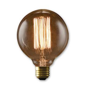 NOS40G30 40W Nostalgic Edison Style G30 Globe Bulb