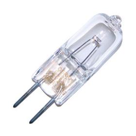 10 Watt 12V Clear Halogen Lamp, G6.35 Base- 10 per pak