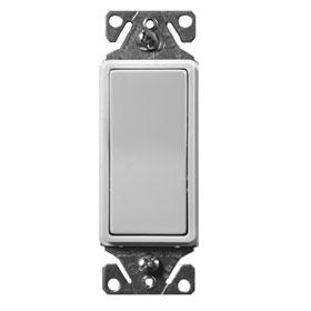 White Momentary Decorator Override Switch