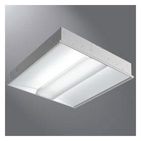Corelite Z3 2 x 2 2-Lamp T5HO Fluorescent Recessed Luminaire, Linear Prismatic Lens