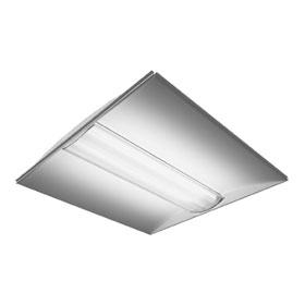 R1 2 x 2 Two Lamp T5 Recessed Lensed Fluorescent Luminaire