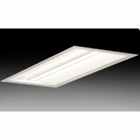 TDJA 1 X 4 2-Lamp 54W T5HO Fluorescent Recessed Direct/Indirect Fixture