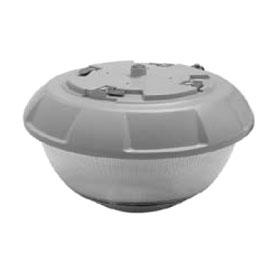 VG Series Silver 50W 5700K LED Parking Garage J-Box Mount Ceiling Fixture 120/277