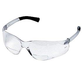 BearKat Magnifier +2 Clear Lens Safety Glasses
