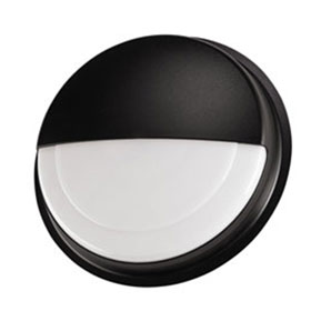 VR15 White 32W CFL Vandal Resistant Round Open Wall Luminaire