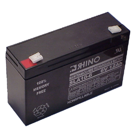 6V 12.0AH Sealed Lead Acid Rechargeable Battery