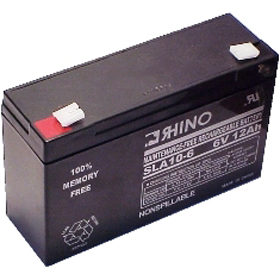 6V 12.0A/Hour Sealed Lead Acid Rechargeable Battery