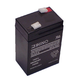 6V 4.5A/Hour Sealed Lead Acid Rechargeable Battery