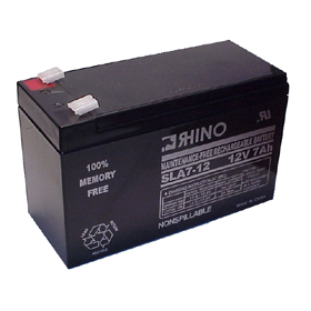 12V 7A/Hour Sealed Lead Acid Rechargeable Battery