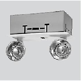 EROD Series 15W 6V Recessed Dual Head Emergency Light Unit