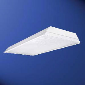 Fail-Safe 2 x 4 2-Lamp 32W T8 Fluorescent CFD Cleanroom Troffer 120-277V