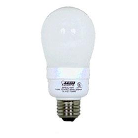 15W 2700K A Shape Compact Fluorescent Lamp