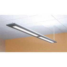 Series 14 36 ft. Dimming 2-Lamp T8 Fluorescent Luminaire 120V