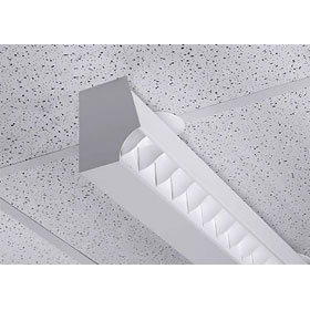 Series X2-R 8 ft. Dimming T8 Fluorescent Wall Wash Luminaire 120V