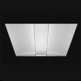 FEQ 2 X 2 3 Lamp T5 Grid Mount