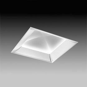 Sky 2 x 2 4-Lamp T5HO Fluorescent Recessed Four-Sided Perforated Diffuser Indirect Luminaire 120