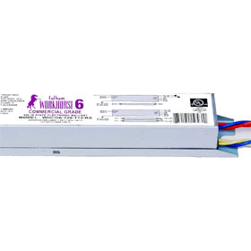 Work Horse 6 Commercial Grade Fluorescent In-Fixture T8, T12 RS Electronic Ballast