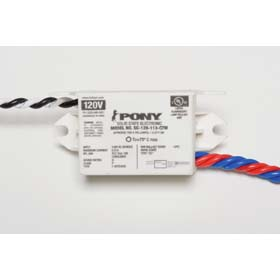 PONY 13W Twin CFL RS Electronic Ballast 120V