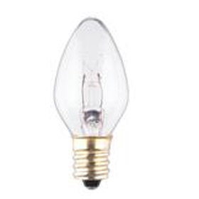 C7CL7 Clear 7.5W 130V C7 Lamp