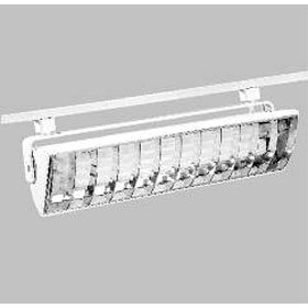 L3240EP Power-Trac White 40W Compact Fluorescent  Wall Washer Track Light 120V