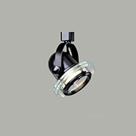 L1525 Power-Trac Black Deco Roundback Cylinder Track Head