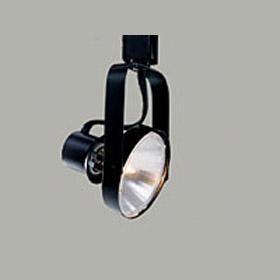 L1731 75W PAR30 Front Loading Black Gimbal Ring Track Head