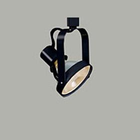 L1739 250W PAR38 Front Loading Black Gimbal Ring Track Head