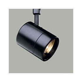 Power-Trac L1765 Black Low Voltage PAR36 Flatback Cylinder Track Head
