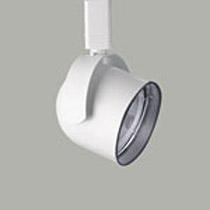 L4011 Colletto White PAR30 Roundback Cylinder Track Head