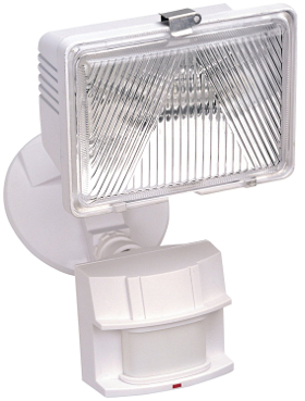 White 250W 180 DEGREE MOTION ACTIVATED SECURITY LIGHT