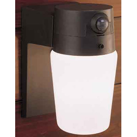 White Entryway Motion Sensor Security Light