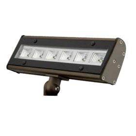 ALF Bronze 10.7W 5100K LED Knuckle Mount Flood Light 120/277V