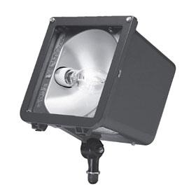 Microliter Series 150W Pulse Start Metal Halide Flood Light 120/277V