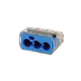 30-1039 In-Sure 3-Port Push-In Wire Connector 10-14 AWG