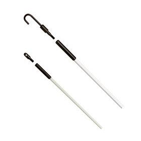 Tuff-Rod 12 ft. Regular Flex Fishing Pole Kit