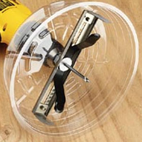 35-598 Adjustable Can Light Hole Saw Attachment