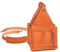 35-975 Tuff-Tote Ultimate Leather Tool Carrier