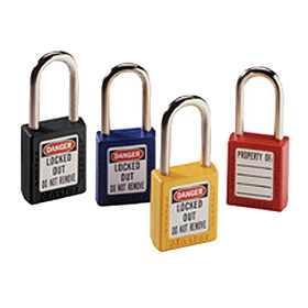 44-916 Red Safety Lock with Key