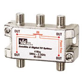 85-334 Splitter, 4-way, 5HMz-2.3GHz