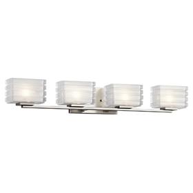 45480NI Bath 4 Light Fixture