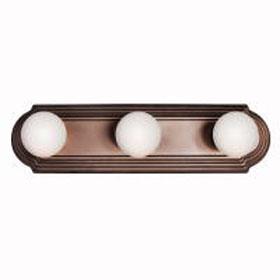 Tannery Bronze 3-Light Bath Strip