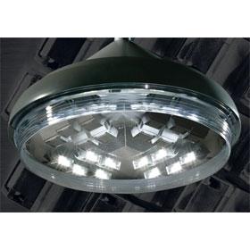 PGL7 Platinum Silver 73W 3500K LED Parking Garage Luminaire, 120V